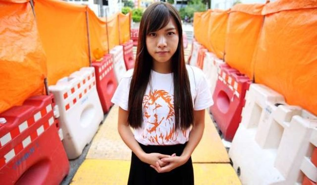 """Young lawmaker Yau Wai-ching, who caused a hubbub for using a Cantonese slang term for sexual intercourse in a public forum, remained unremorseful and said she would continue using so-called """"dirty"""" words in Legislative Council meetings if needed. Picture: South China Morning Post"""