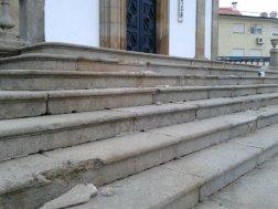 Recuperação da Escadaria Principal da Igreja 3