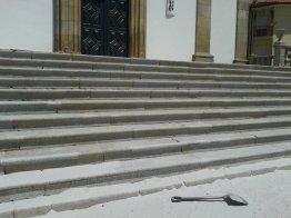 Recuperação da Escadaria Principal da Igreja 8