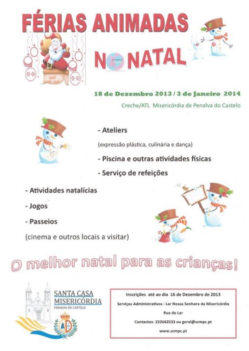 Férias Animadas Natal 2013