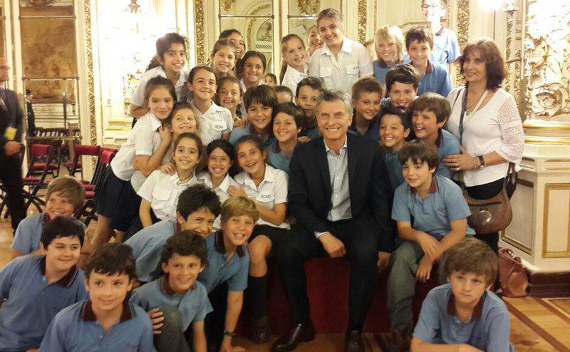 Visita a Casa Rosada