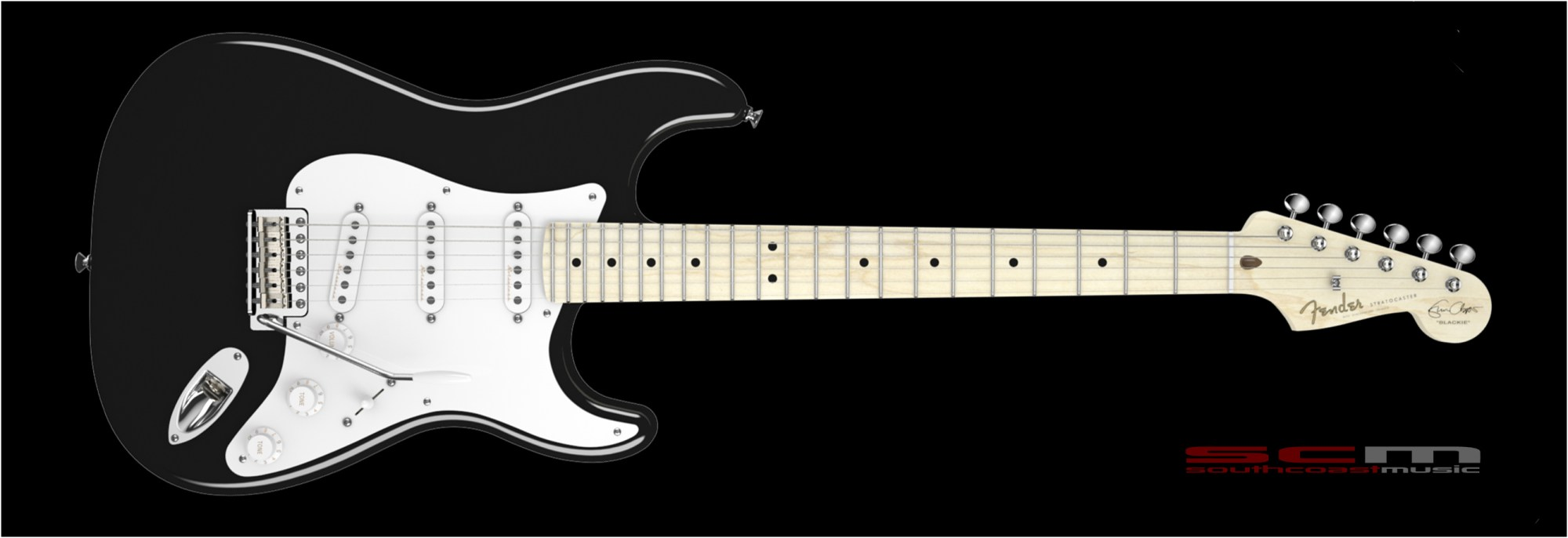 hight resolution of fender eric clapton signature stratocaster blackie