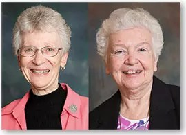 Sisters Regina and Mary, who will lecture at KofC Museum in New Have, CT