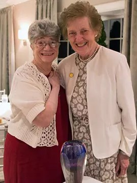 Sr. Jane Iannucelli with Sr. Katherine