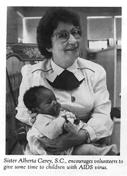 Sr. Alberta worked with children with AIDS
