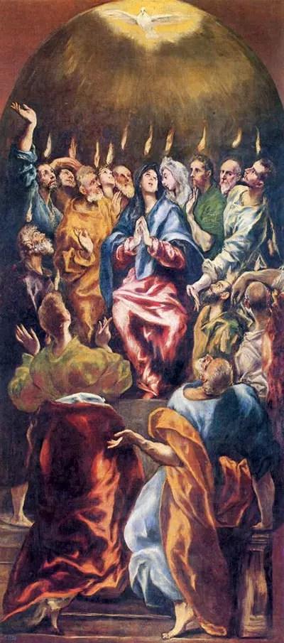 Pentecost Elgreco 95