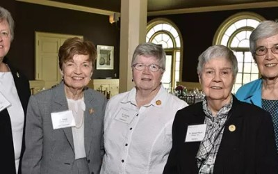 Sisters Attend the Cherish the Child Luncheon