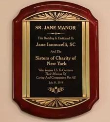 Saint Joseph Medical Center Dedicates Sr. Jane Manor