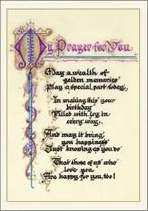 Birthday Prayer Card