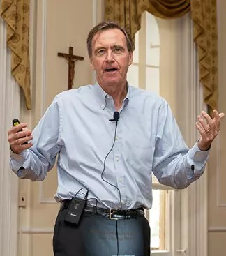 Mr. Chris Lowney, renowned writer and leadership consultant