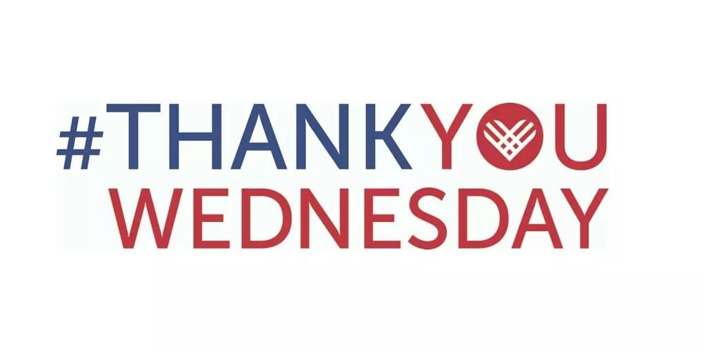 Thank You Wednesday