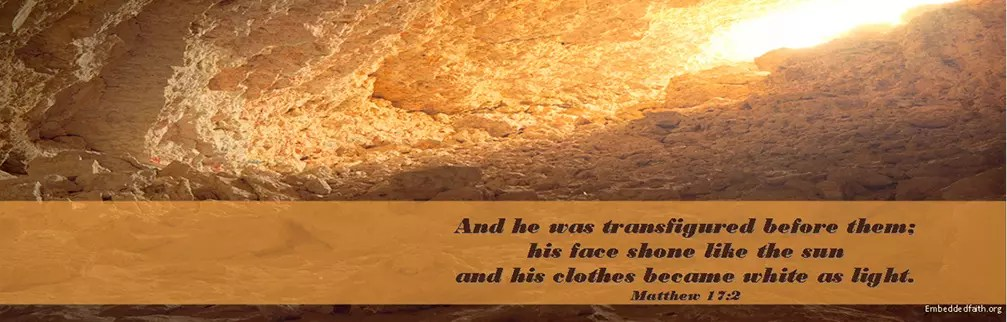 Matthew 17:2