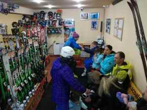 Ski center shop rental in Poiana Brasov