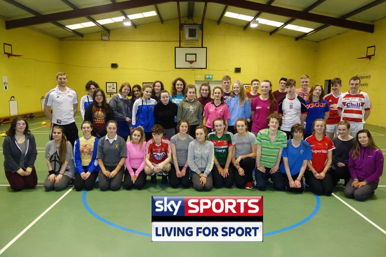 our TY group as part of Sky Sports Living for Sport.