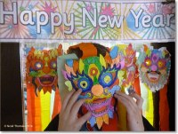 Chinese New Year Classroom Door Decorations