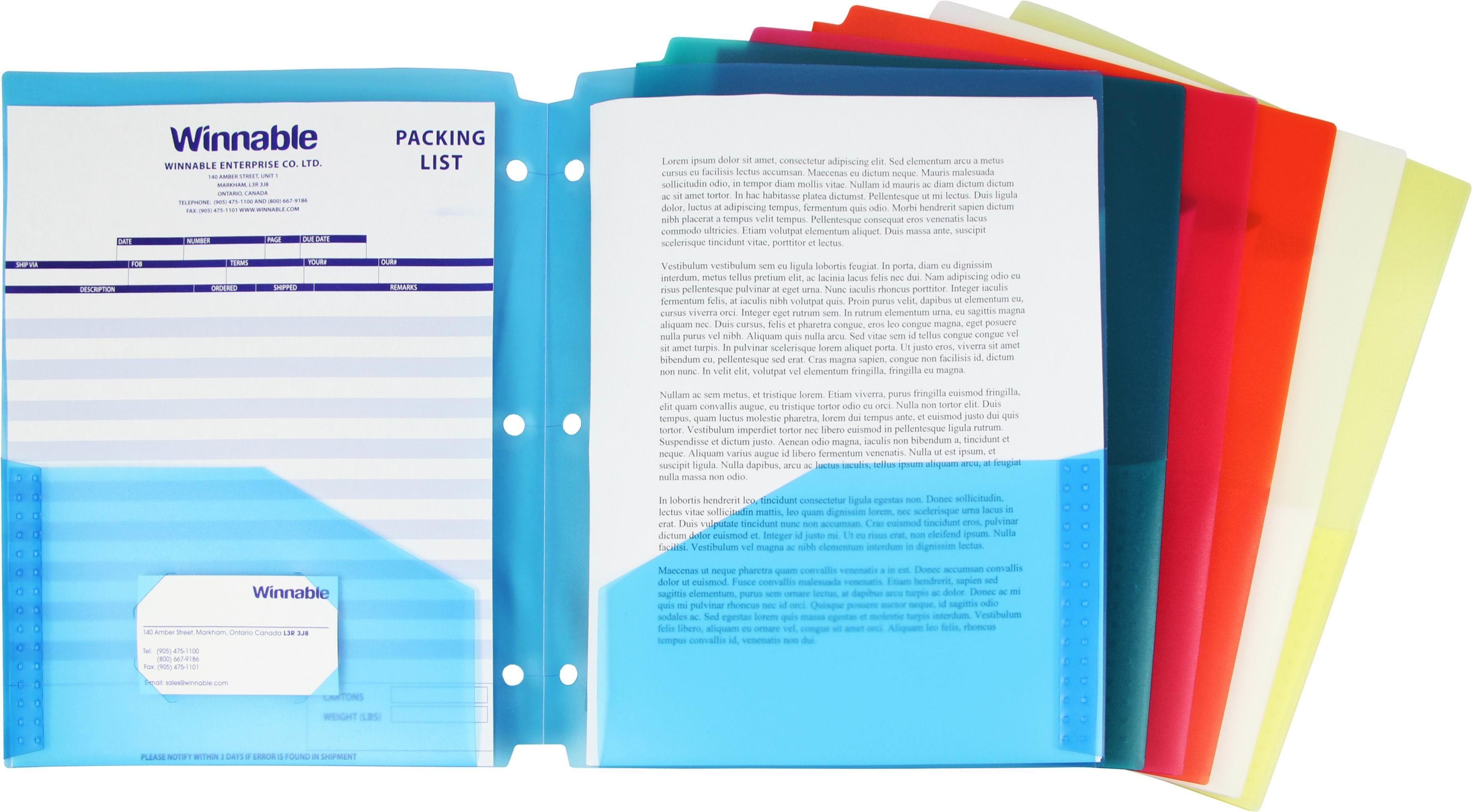 Porte Folio Pochettes Pour Reliure Scolart