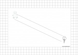 Frostig: esercizi di coordinazione visuomotoria, schede 7-12