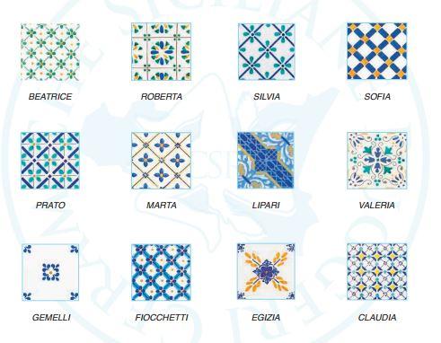 DESIGN SICILIANO  Piastrelle  Maioliche Made in Patti  Scomunicando