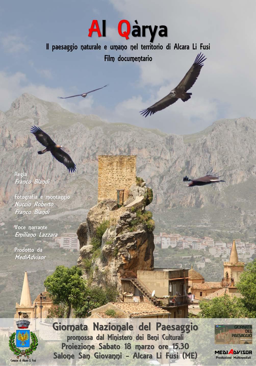 ALCARA LI FUSI  Al Qrya il paesaggio naturale e umano nel territorio di Alcara Li Fusi