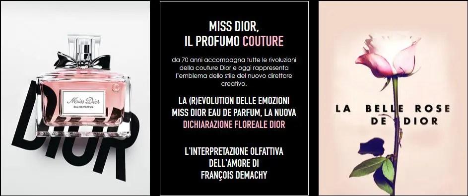 Campione omaggio Miss Dior