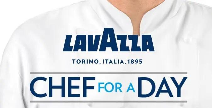 Lavazza - chef for a day