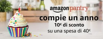 Compleanno Amazon Pantry
