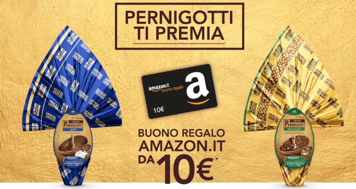 pernigotti ti premia buono sconto Amazon da 10 euro