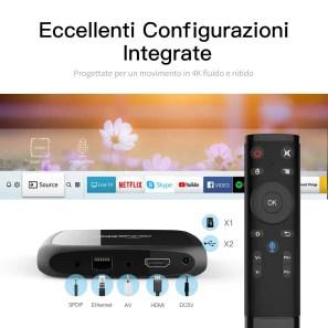 tv abox A4 configurazioni