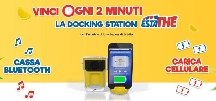 Estathè ti regala una docking station fino all'8 luglio