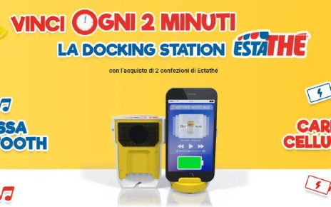 Con Estathè vinci una docking station