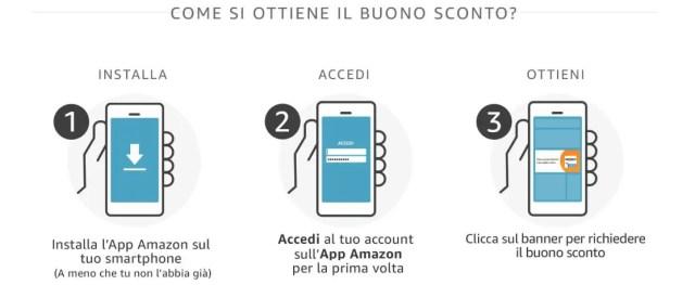 Promo app amazon istruzioni