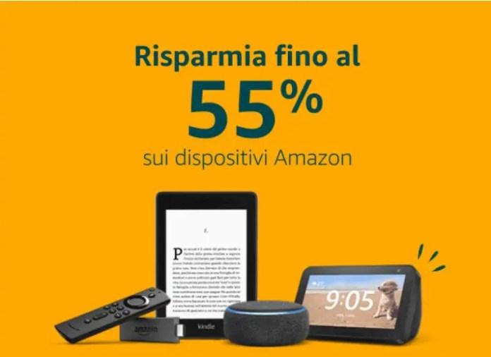 Da non perdere: offerte Black Friday sui dispositivi Amazon