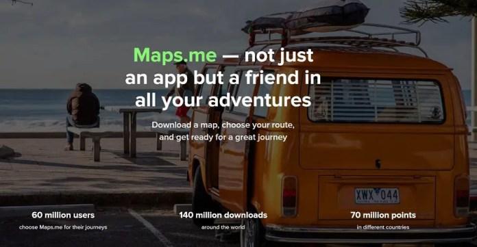 Booking collazione Maps.me