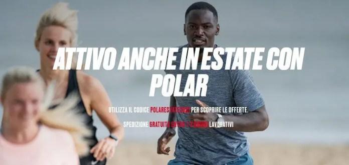 Polar sconto sportwatch