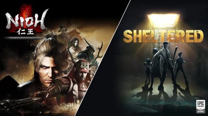 Nioh-The Complete Edition e Sheltered Gratis per PC