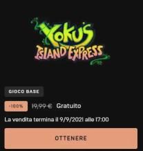 Yoku's Island Express come riscattarlo