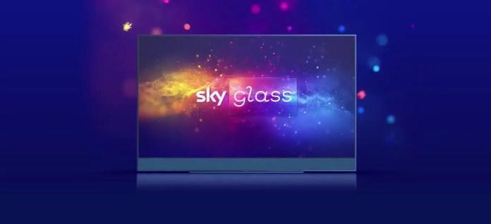 SKY Glass, la Smart TV  di SKY che non ha bisogno di parabola