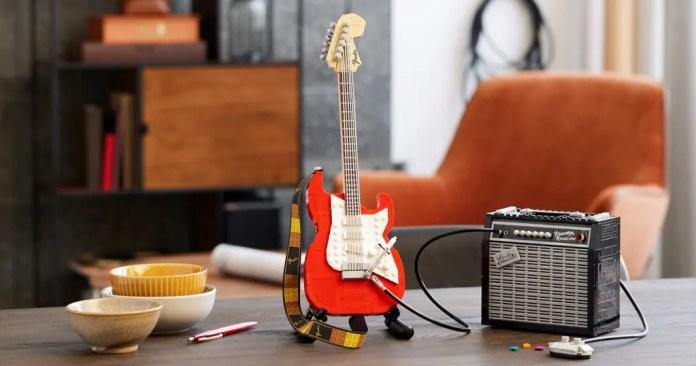 Fender Stratocaster Set LEGO Ideas