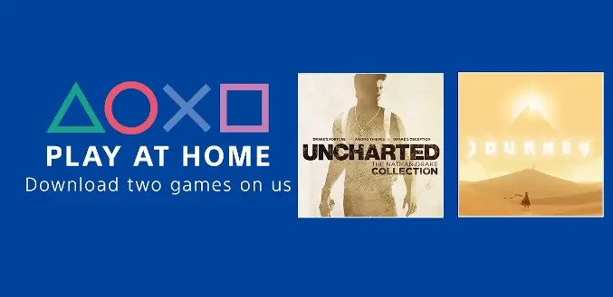 play station play at home #playathome giochi gratis ps4