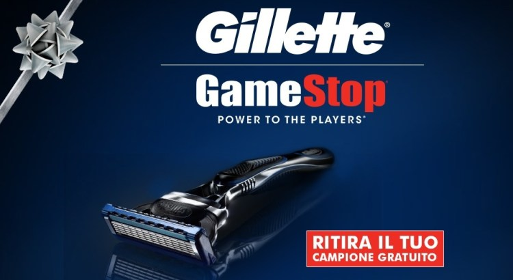 Gillette Fusion Proglide Gratis da Game Stop