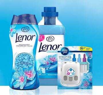 Prova gratis Lenor Prodotti Prova gratis Lenor (ammorbidente, profumo e profumatore per ambienti) e ricevi il rimborso di quanto speso!