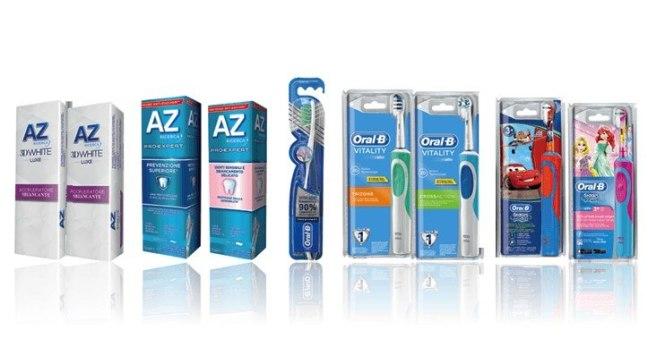 """Concorso Sorrisi con AZ ORAL B """"Entra in Acqua&Sapone, esci con il sorriso"""": spendi 30€ e ricevi 30€ con AZ e Oral B"""