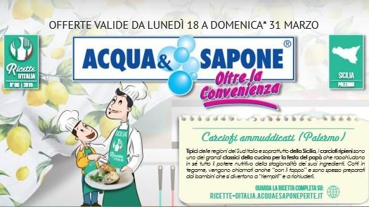 Tutti gli omaggi con acquisto di Acqua e Sapone (dal 18 al 31 Marzo 2019)