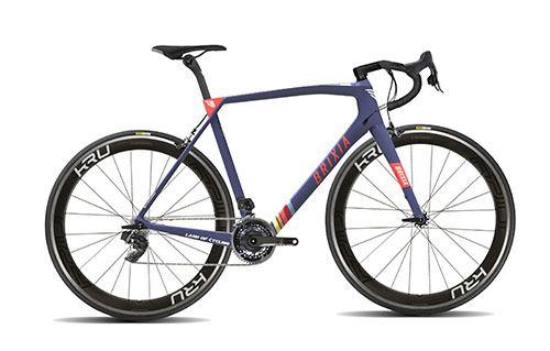 bicicletta da corsa Brixia Vinci una bici da corsa Brixia di Bit Bikes Engineering con il Giro Rosa Iccrea