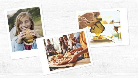 """Vintage Photosì Concorso Entremont Condividi con gusto: vinci fotocamere e stampanti Polaroid, Set """"Cheese party"""" + 24 stampe foto come premio certo"""