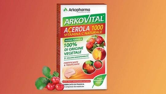 Arkovital Acerola 1000 Diventa tester Arkovital Acerola 1000 di Arkopharma