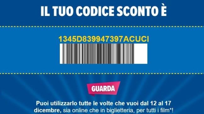 www.scontrinofelice.it codice sconto uci cinemas  UCI Cinemas Operazione Guarda e Passa: biglietti a soli 5,99€ con questo codice sconto!