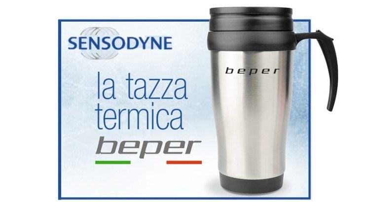 Acquista Sensodyne e ricevi la Tazza termoisolante Beper come premio certo