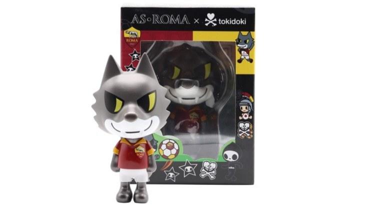 AS Roma x tokidoki Collectible Vinyl Figurine