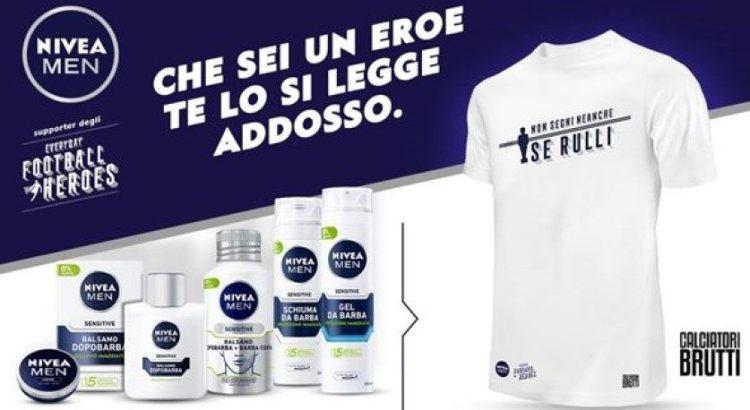 Nivea Men premio certo maglia termica Calciatori Brutti